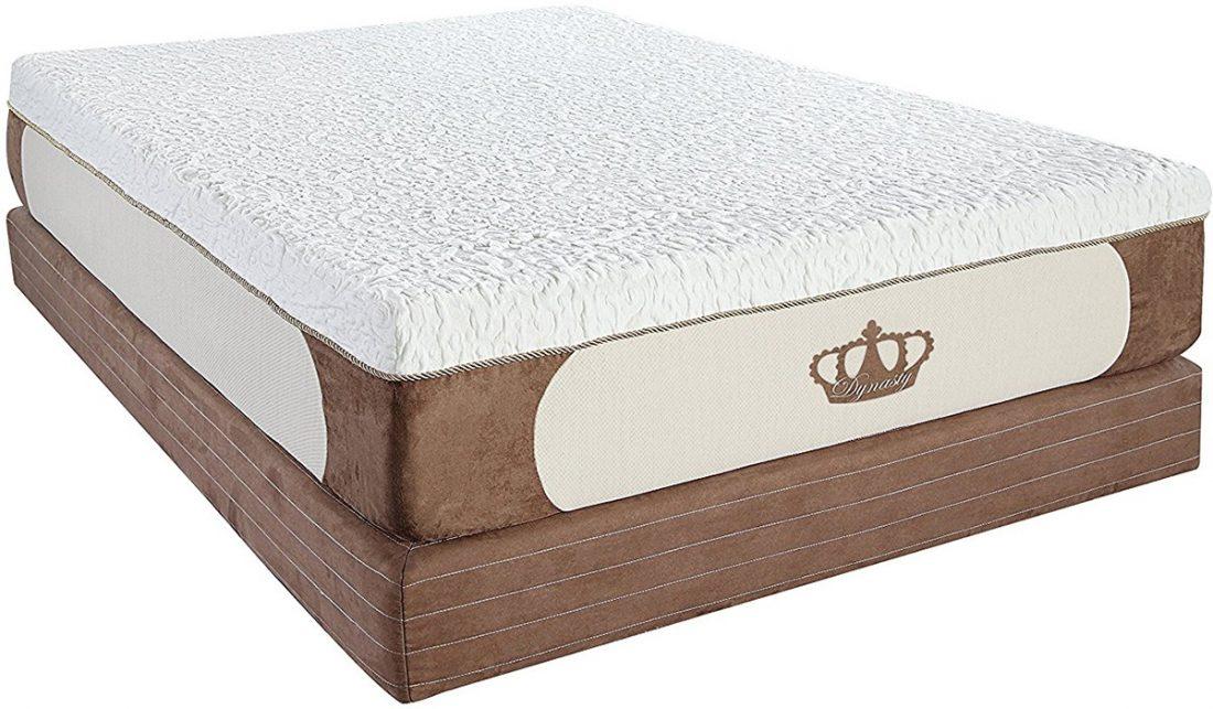 12 Inch Dynastymattress Full Gel Memory Foam Mattress