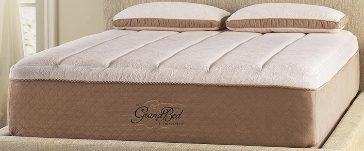 the tempurpedic grandbed mattress is a 15u2033 tempur material mattress made to provide extra support each night with comfort and without the physical stress