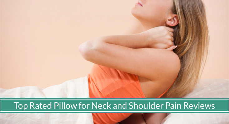 the top 10 best pillows for neck and shoulder pain for 2018 mysleepyferret. Black Bedroom Furniture Sets. Home Design Ideas