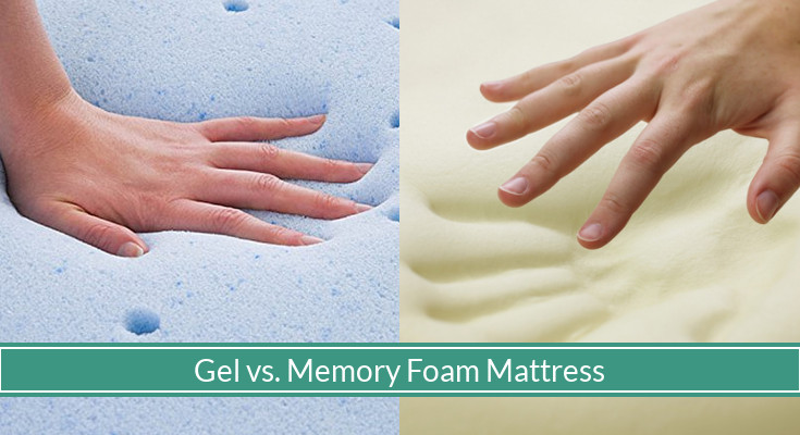gel vs memory foam mattress Which Is Better   Gel or Memory Foam Mattress?   MySleepyFerret gel vs memory foam mattress